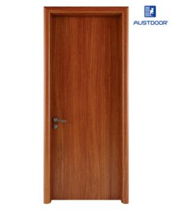 FL101 - Cửa gỗ nhựa composite Austdoor phẳng trơn vân thẳng