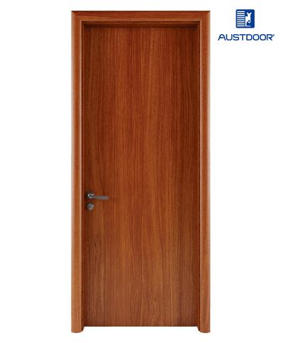 FL101 – Cửa gỗ nhựa composite Austdoor phẳng trơn vân thẳng