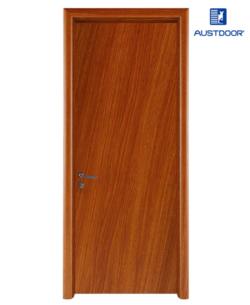 FL102 - Cửa gỗ nhựa composite Austdoor phẳng trơn vân chéo