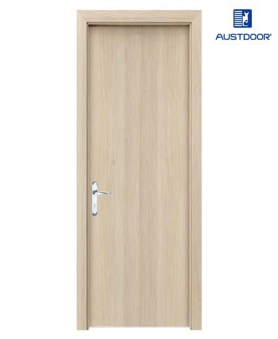SK101 – Cửa gỗ công nghiệp Austdoor phẳng trơn veneer tần bì