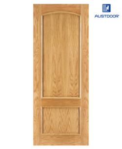 SK201 - Cửa gỗ công nghiệp Austdoor cổ điển veneer xoan đào