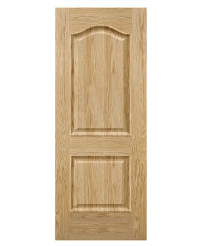 SK301.O – Cửa gỗ công nghiệp Austdoor pano vòm veneer sồi đỏ