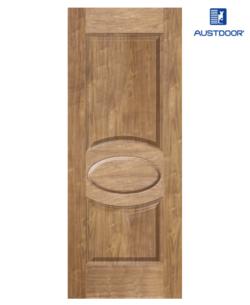SK303.W - Cửa gỗ công nghiệp Austdoor sang trọng veneer óc chó