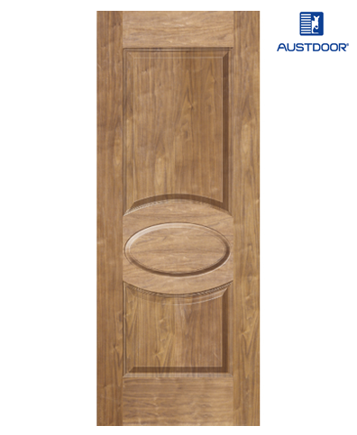 SK303.W – Cửa gỗ công nghiệp Austdoor sang trọng veneer óc chó
