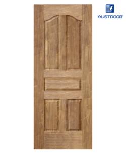 SK304.W - Cửa gỗ công nghiệp Austdoor cổ điển veneer óc chó