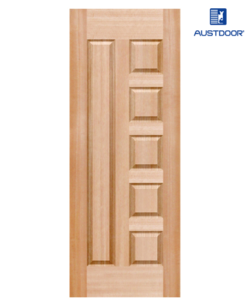 SK305.M - Cửa gỗ công nghiệp Austdoor pano khối veneer gỗ gụ