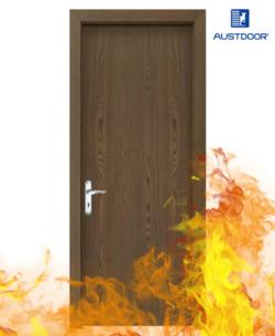 SP1 - Cửa gỗ chống cháy Austdoor phủ Laminate