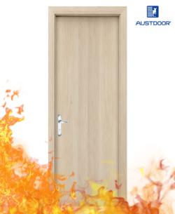 SP2 - Cửa gỗ chống cháy Austdoor phủ Veneer