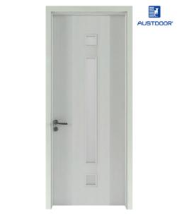 FL205 - Cửa gỗ nhựa composite Austdoor pano kính dài