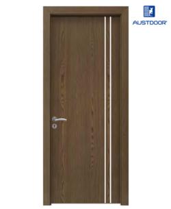 FLA201 - Cửa gỗ công nghiệp Austdoor chỉ dọc phủ Laminate