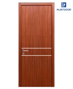 FLA202 - Cửa gỗ công nghiệp Austdoor chỉ ngang phủ Laminate