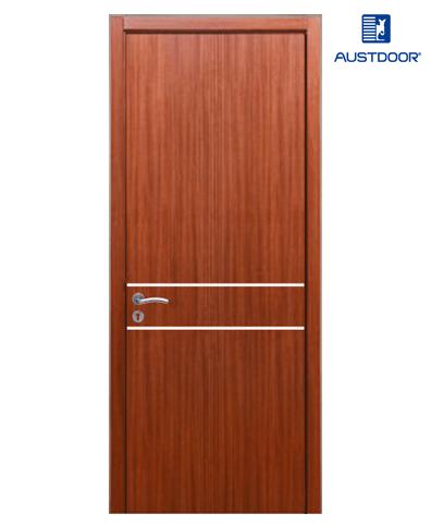 FLA202 – Cửa gỗ công nghiệp Austdoor chỉ ngang phủ Laminate
