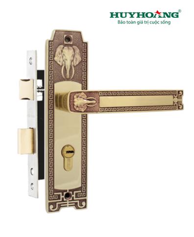 Khóa tay gạt Huy Hoàng cổ điển HC 5828 – KG108