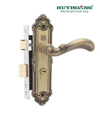 Khóa tay gạt Huy Hoàng cổ điển HCR 5829 – KG109