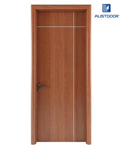 LA101 – Cửa gỗ nhựa composite Austdoor Chỉ sơn giao thoa