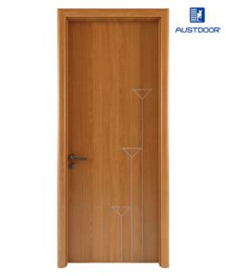 LA104 - Cửa gỗ nhựa composite Austdoor chỉ sơn nhịp điệu