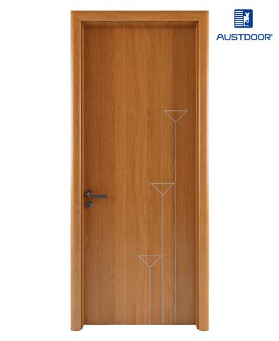 LA104 – Cửa gỗ nhựa composite Austdoor chỉ sơn nhịp điệu