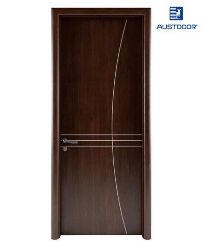 LA108 – Cửa gỗ nhựa composite Austdoor Chỉ sơn nghệ thuật