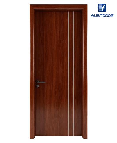 LA109 – Cửa gỗ nhựa composite Austdoor Chỉ sơn song song