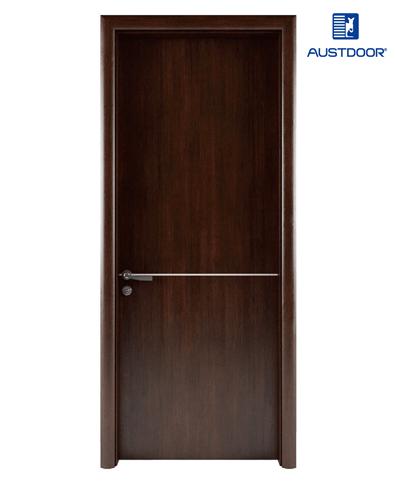 LA203 – Cửa gỗ nhựa compositec Austdoor chỉ nhôm cao cấp