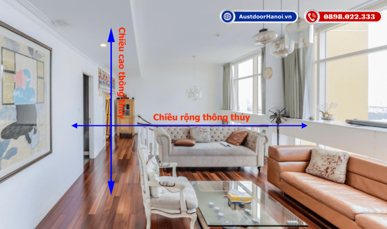 Cách lựa chọn kích thước thông thủy ĐẸP - XẤU cho căn nhà mình