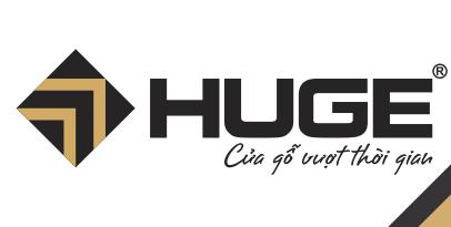 Logo cửa gỗ Huge - Austdoor