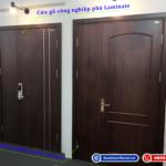 So sánh cửa gỗ HDF Veneer và cửa gỗ HDF Laminate