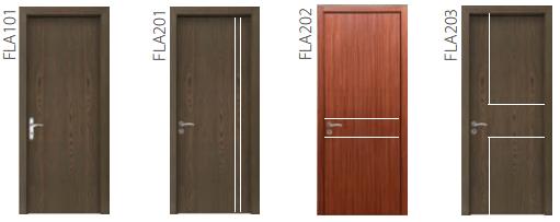 Mẫu cửa gỗ công nghiệp Laminate thương hiệu Huge - Austdoor