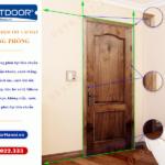 Tiêu chuẩn nghiệm thu lắp đặt cửa thông phòng