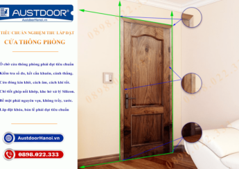 Tiêu chuẩn lắp đặt cửa thông phòng - Cửa gỗ Huge