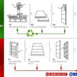 Cửa nhựa gỗ composite giá rẻ hơn Cửa gỗ công nghiệp