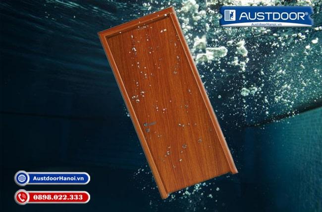 Cửa gỗ nhựa composite chống chịu nước Huge - Austdoor