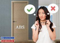 có nên sử dụng cửa nhựa ABS Hàn Quốc hay không ?