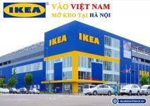 Cửa hàng đồ gia dụng gỗ nội thất IKEA vào Việt Nam tại Hà Nội