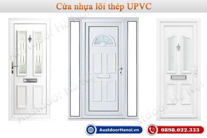 Cửa nhựa lõi thép UPVC nhà vệ sinh, phòng tắm, Toilet, WC