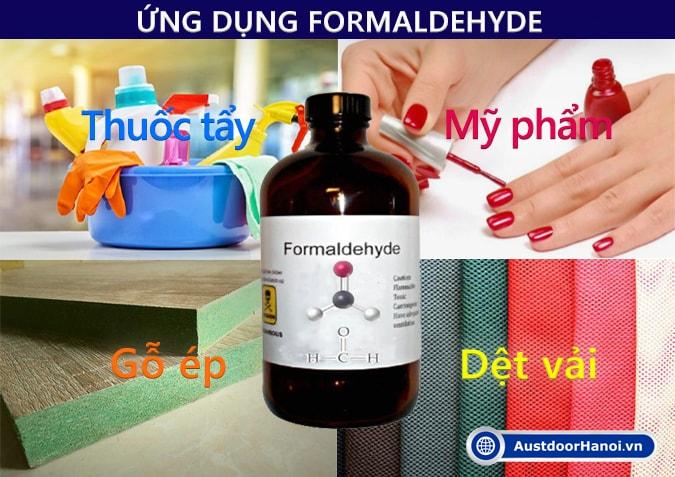 Ứng dụng Formaldehyde là gì ?