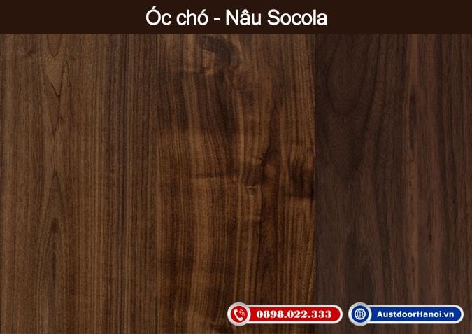 map go oc cho nau socola