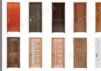 Những mẫu cửa gỗ 1 cánh mang phong cách Hiện đại phù hợp làm cửa chung cư