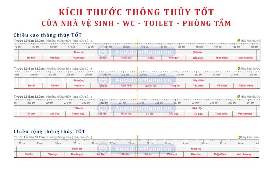 Thyoong thủy cửa nhà vệ sinh toilet wc toilet nhà tắm