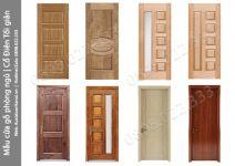 Các mẫu cửa gỗ thông phòng ngủ Tân cổ điển, Cổ điển đẹp