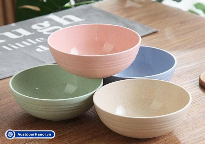 Cốc tô chén đĩa đũa khay bát đĩa nhựa melamine có độc không