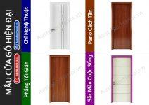 20 mẫu cửa gỗ phòng ngủ Hiện Đại đẹp Huge – Austdoor