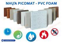 Picomat là gì ? Báo giá tấm ván gỗ nhựa Picomat – PVC Foam