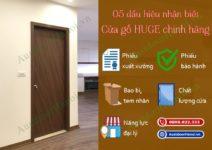 Nhận biết cửa gỗ nhựa Huge – Austdoor chính hãng