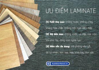 ưu nhược điểm của tấm ván gỗ công nghiệp formica laminate an cường là gì
