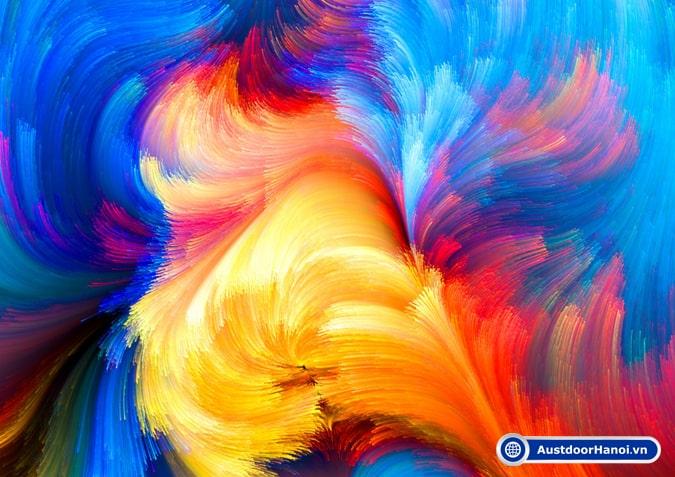 Sơn màu vẽ Acrylic tạo nên nhiều tác phẩm nghệ thuật chân thực