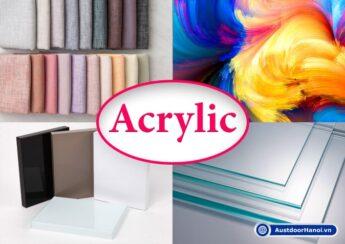 vật liệu tấm vải kính nhựa gỗ bộ màu sơn gỗ acrylic là gì
