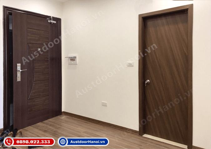 Chọn màu cửa phòng ngủ vệ sinh theo nội thất