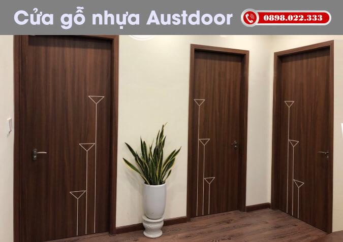 kinh nghiệm mua cửa gỗ nhựa composite công nghiệp Austdoor Huge tại hải phòng quảng ninh