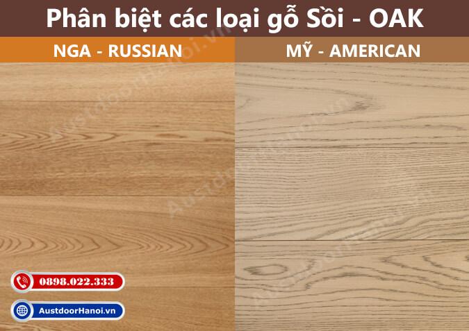 gỗ sồi đỏ trắng nga mỹ oak tự nhiên có tốt bền không